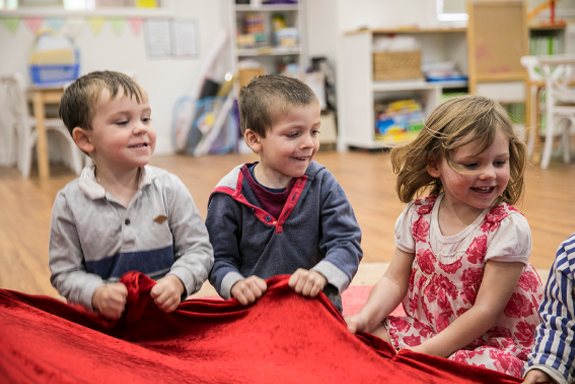 Kids playing at Endeavour Early Education - EEE